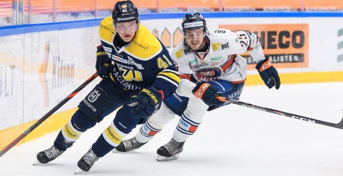 LÅN: 21-årige backen lämnar SHL för Hockeyallsvenskan