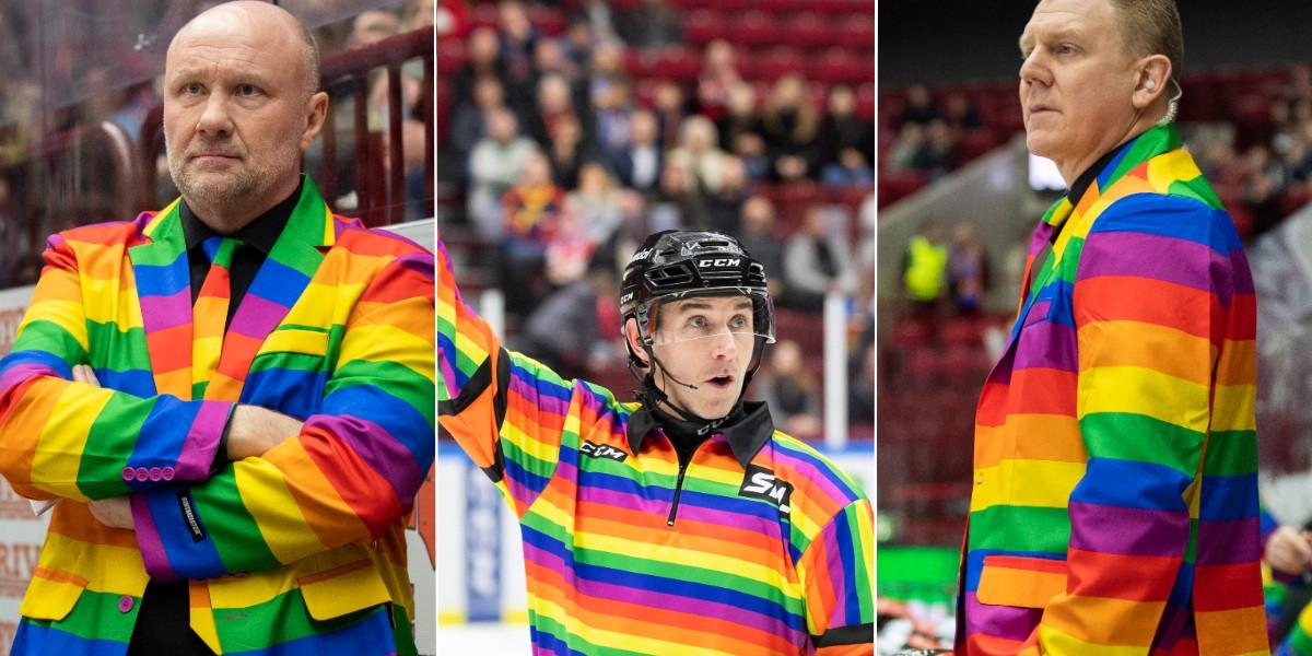 SHL PRIDE: Malmötränarnas fräcka klädkupp