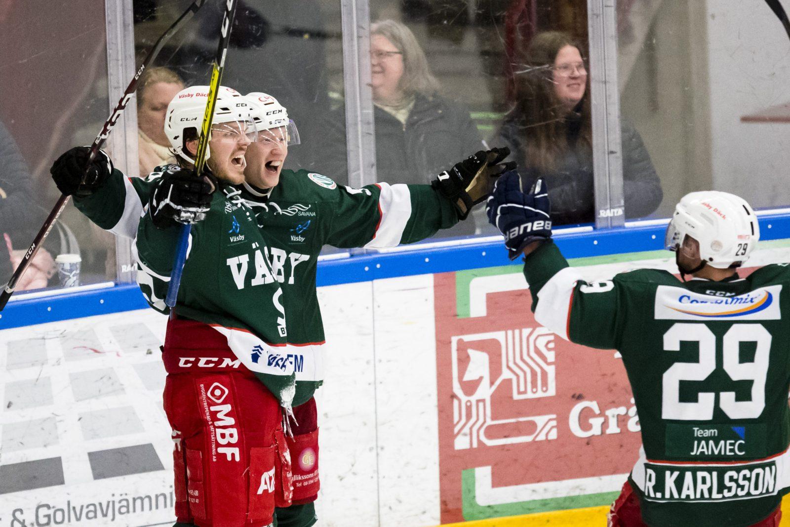 KVAL: Så slutar playoff 2, kval till Hockeyallsvenskan