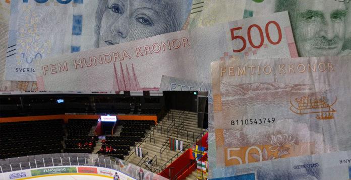 EKONOMI: Så mycket förlorar hockeyn på coronautbrottet