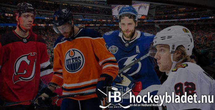 Härifrån draftades NHL-svenskarna när de gick över till Nordamerika