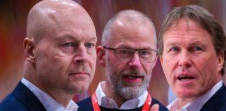 TRE KRONOR: Förbundskaptenerna scoutar VM-aktuella NHL-spelare
