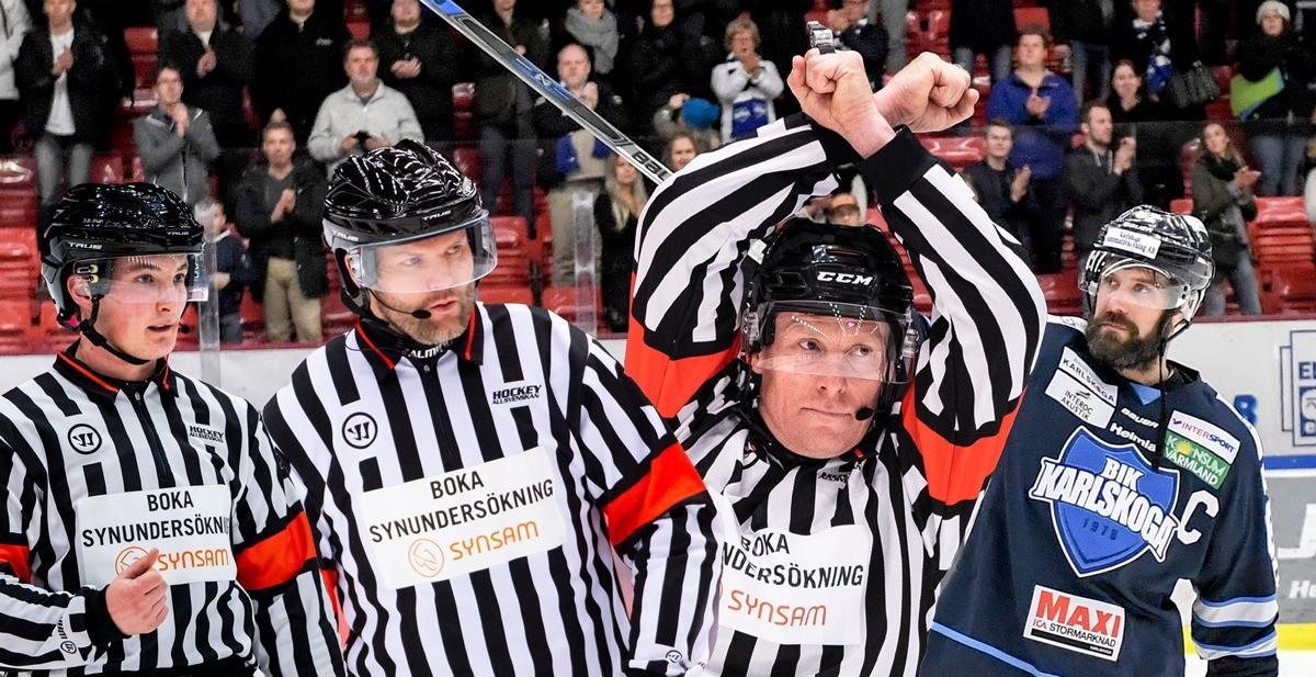 DOMARNA 2020/2021: Här är Hockeyallsvenska truppen