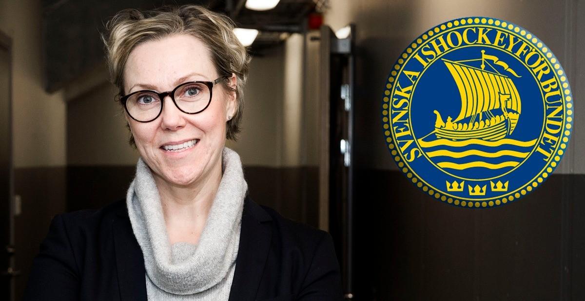 KRÖNIKA: Hon ska bli ny generalsekreterare i Svenska Ishockeyförbundet!
