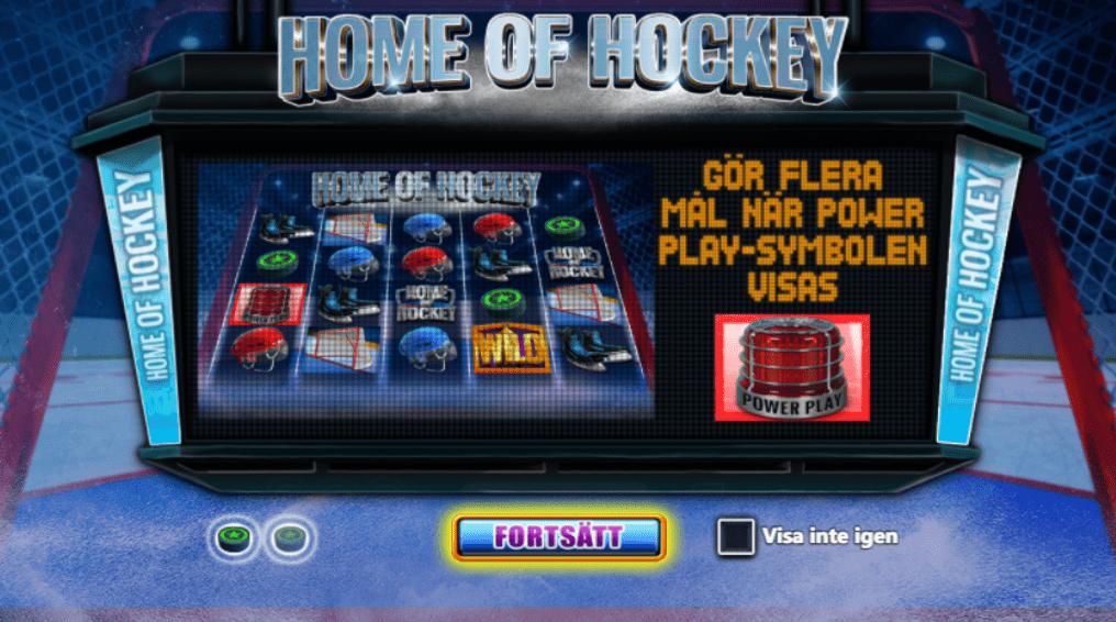 Home of Hockey – Ett exklusivt hockey spel med 178 olika sätt att vinna på