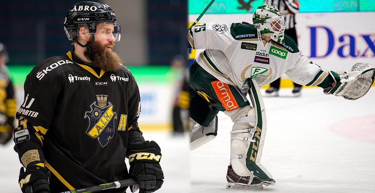 AIK och Färjestad i dubbelmöte – ersätter inställda matcher