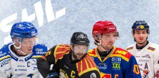 LISTA: De är säsongens kaptener i SHL 2020/2021