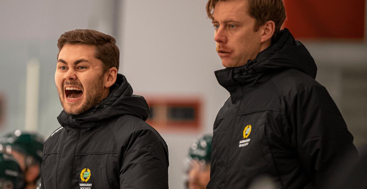 HOCKEYETTAN: Hammarby sparkar tränarduon