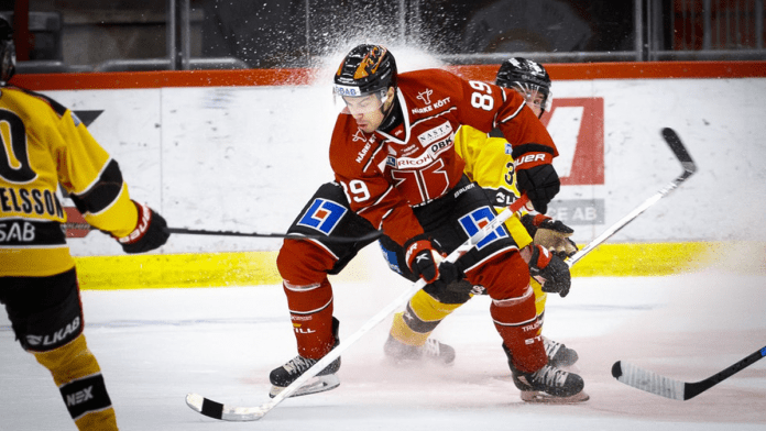 Örebro sparkar NHL-forwarden