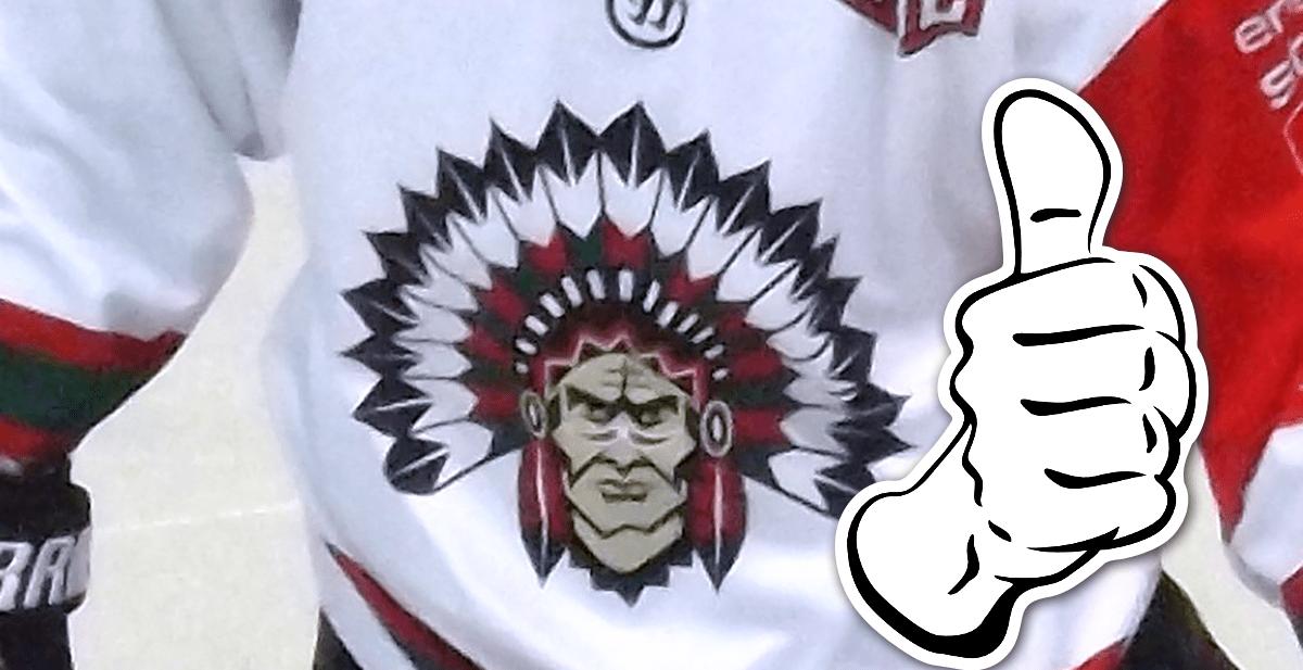 Indianen blir kvar på Frölundas tröja – en säsong till