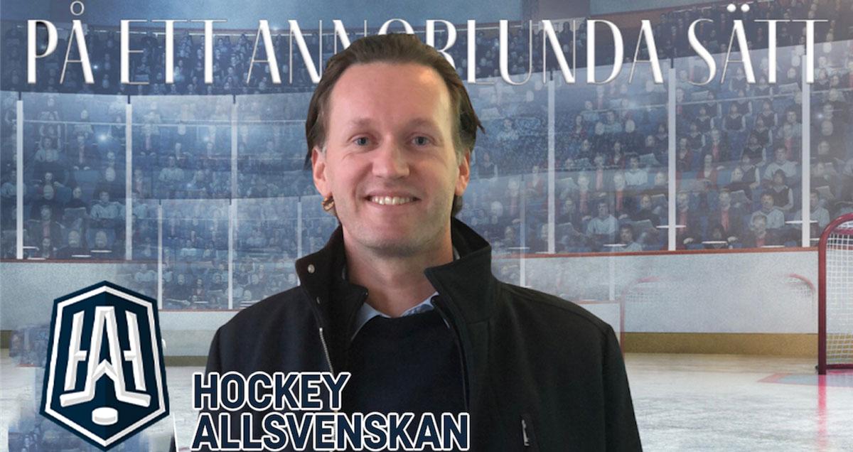 """HOCKEYSNACK: """"Vd för Hockeyallsvenskan"""" med Gabriel Monidelle"""