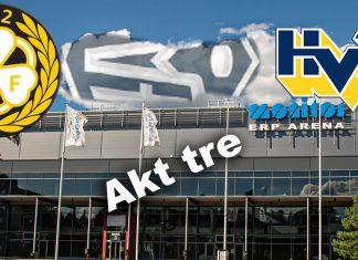Direktrapportering från Brynäs-HV71