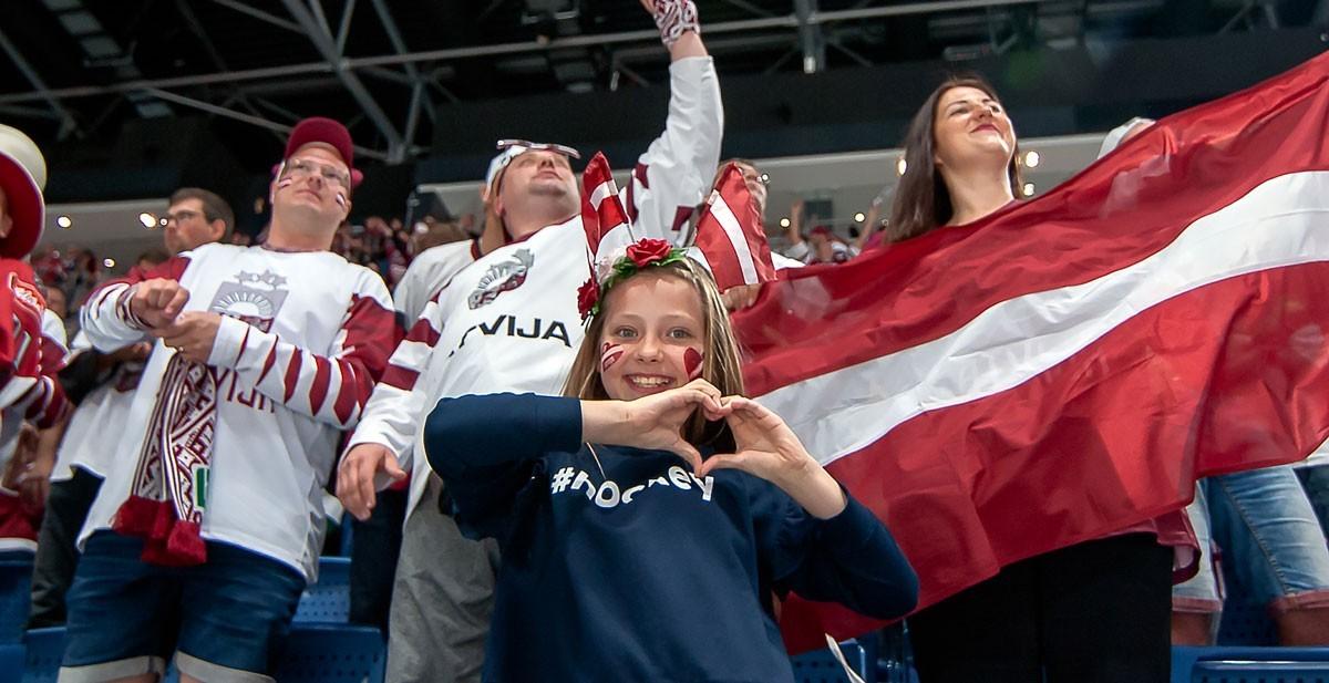 VM2021: Lettlands parlament öppnar för publik i VM